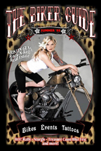 bike guide magazine austin Tattoo Artist Chris Gunn