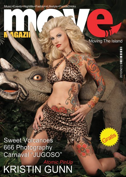 MOVE Magazine austin Tattoo Artist Chris Gunn - Kristin Gunn 2010